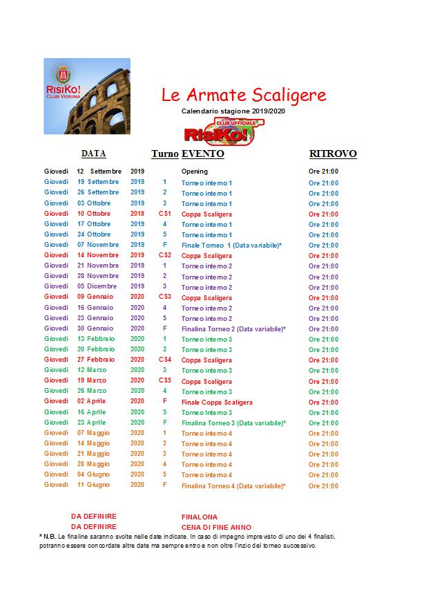 Calendario Serie B 2020 2020.Verona Stagione 2019 2020 Inizio 12 Settembre 2019